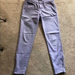 Forever 21 Lavendar Stretch Skinny Jeans Sz 28.